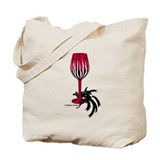 Garnet &amp; Black Wino Tote Bag