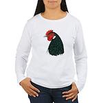 Lakenvelder Hen Head Women's Long Sleeve T-Shirt