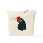 Lakenvelder Hen Head Tote Bag
