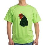 Lakenvelder Hen Head Green T-Shirt