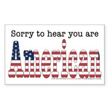 """Sorry To Hear..."" Decal"