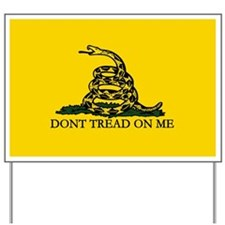 Serpent Crotalus Gadsden Flag Yard Sign