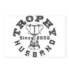 Trophy Husband Since 2006 Postcards (Package of 8)
