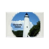 Ocracoke Lighthouse Rectangle Magnet (100 pack)