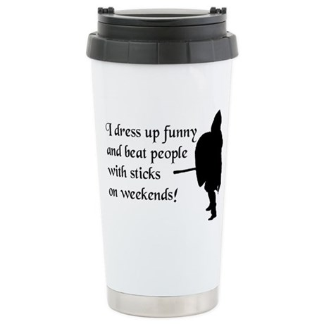 Weekend Warrior Ceramic Travel Mug