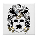 Byron Coat of Arms Tile Coaster