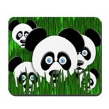 The Amazing Pandas Mousepad