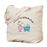 big sister little brother matching t-shirts Tote B