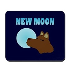 New Moon Jacob Wolf Mousepad