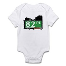 82 PLACE, QUEENS, NYC Infant Bodysuit