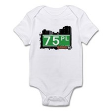 75 PLACE, QUEENS, NYC Infant Bodysuit