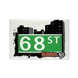 68 STREET, QUEENS, NYC Rectangle Magnet (100 pack)