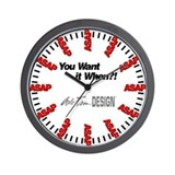 Auto Trim DESIGN ASAP Wall Clock