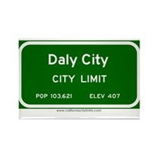 Daly City Rectangle Magnet (10 pack)