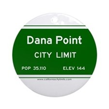 Dana Point Ornament (Round)