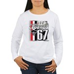 1967 Musclecars Women's Long Sleeve T-Shirt