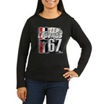 1967 Musclecars Women's Long Sleeve Dark T-Shirt