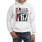 1967 Musclecars Hooded Sweatshirt