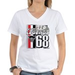 1968 Musclecars Women's V-Neck T-Shirt