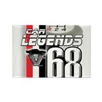 1968 Musclecars Rectangle Magnet (100 pack)