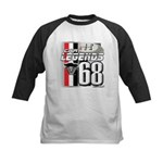1968 Musclecars Kids Baseball Jersey