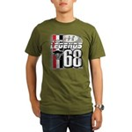 1968 Musclecars Organic Men's T-Shirt (dark)