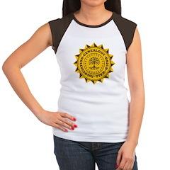 Brick Wall II Women's Cap Sleeve T-Shirt