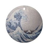 Katsushika Hokusai Wave Great Wave Ornament