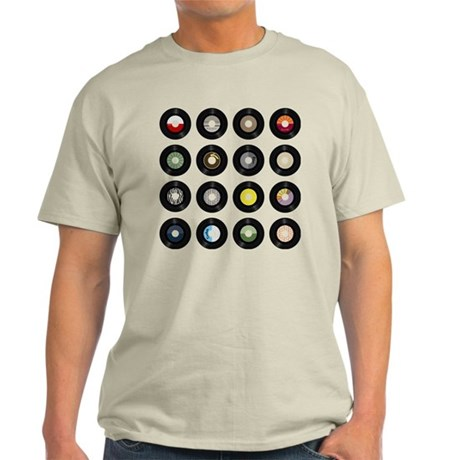 Records Light T-Shirt