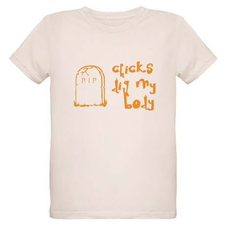 Chicks Dig My Body Organic Kids T-Shirt