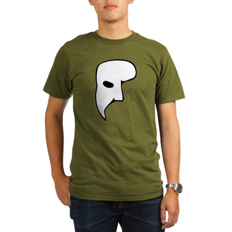 Phantom of the Opera Organic Mens Dark T-Shirt