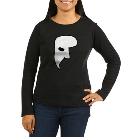 Phantom of the Opera Womens Long Sleeve Dark T-Sh