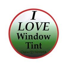"Dark Window Tint 3.5"" Button (100 pack)"