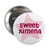 "Sweet Ximena 2.25"" Button (10 pack)"