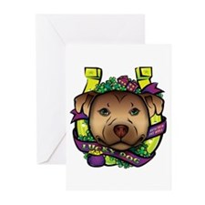 Lucky Dog Greeting Cards (Pk of 20)