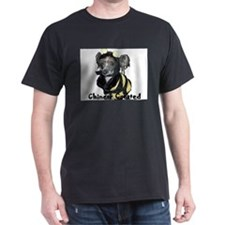 Chinese Crested Black T-Shirt