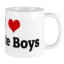 I Love White Boys Mug