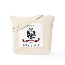 Cute Veteran pride Tote Bag