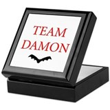 Team Damon Bat Keepsake Box