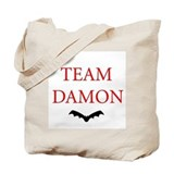 Team Damon Bat Tote Bag