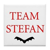 Team Stefan Bat Tile Coaster