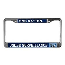 Under Surveillance - License Plate Frame