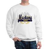 Collegiate Mustang Wife Sweatshirt