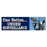 Under Surveillance - Bumper Bumper Sticker