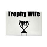 Funny Trophy husband Rectangle Magnet (100 pack)
