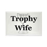 Funny Trophy Rectangle Magnet (100 pack)