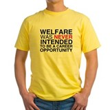 Welfare was never intended to T