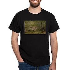 Cheetah Black T-Shirt