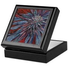 Cannabis Art Keepsake Box (Purple Haze)