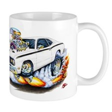 Duster White Car Mug
